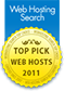 Top Pick Web Host 2011 by WHS